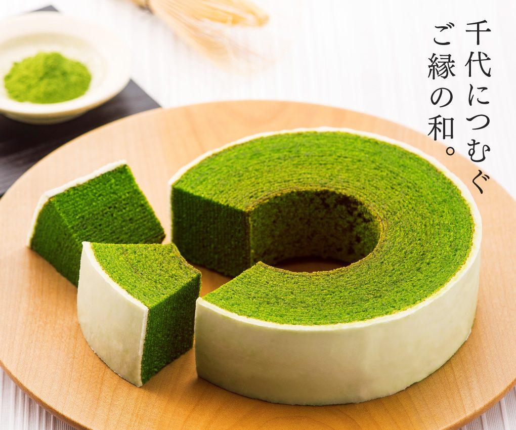 CHIYOの和静岡抹茶バームクーヘン