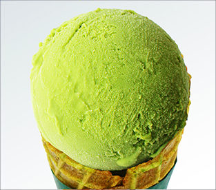ジェラート さわやか本山緑茶